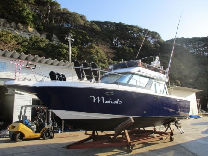 ヤマハSC-32進水式